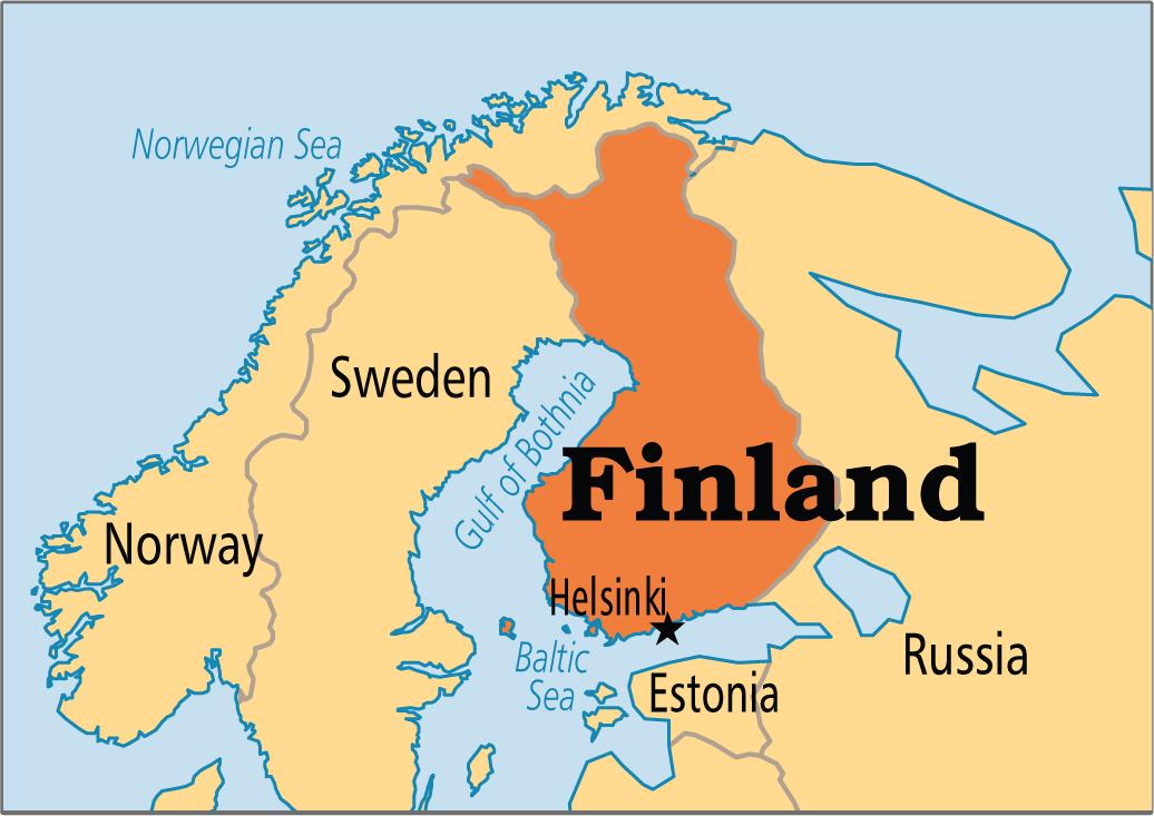 Helsinki World Map.Trustcom 2015